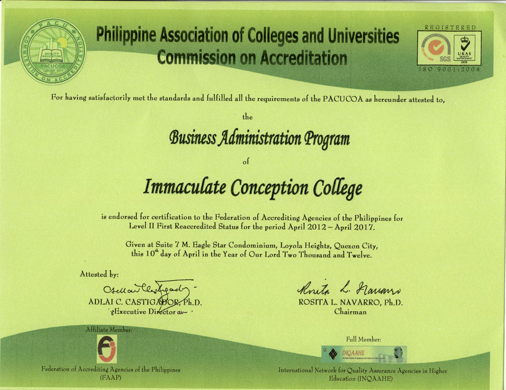 PACUCOA-college-business-administration